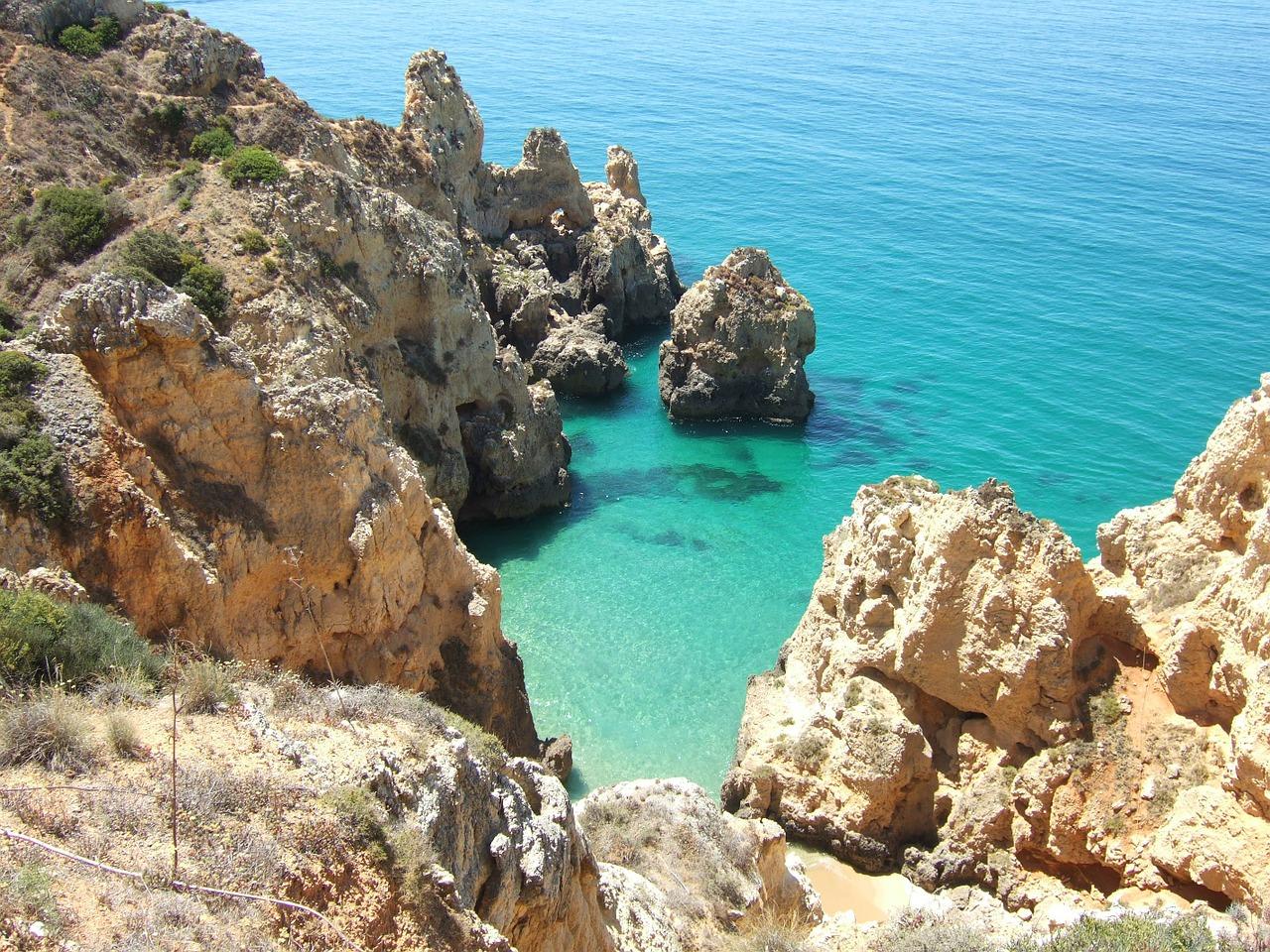 Wandern Algarve Felsenküste